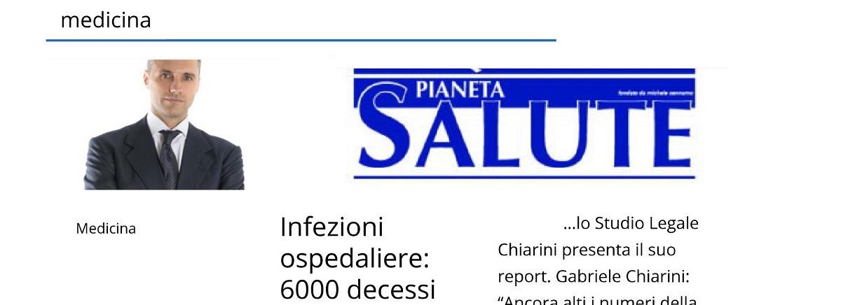 """Intervista """"Pianeta Salute"""" all'Avv. Gabriele Chiarini sulla malasanità in Italia"""