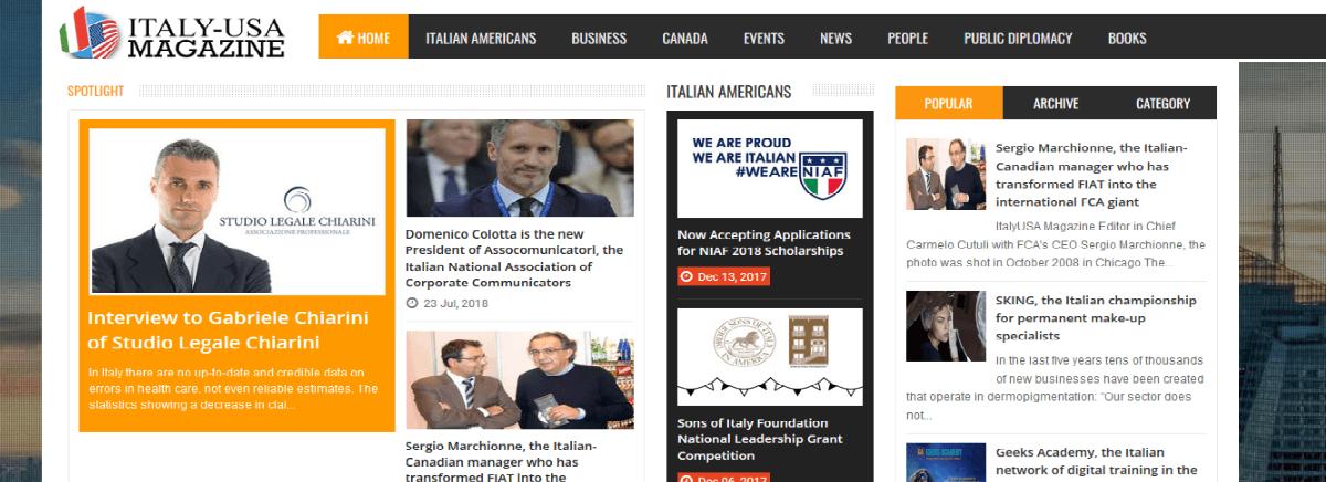 """Intervista """"Italy-USA Magazine"""" all'Avv. Gabriele Chiarini sugli errori sanitari"""