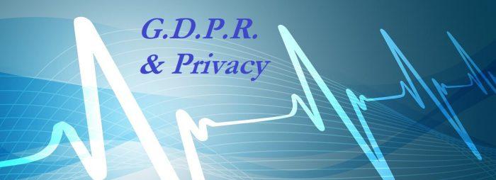G.D.P.R. sanità