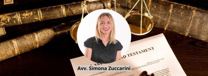 Successione testamentaria - Avv. Simona Zuccarini