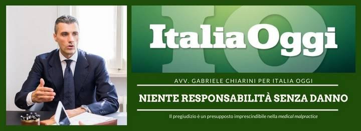Italia Oggi - Responsabilità sanitaria e COVID-19 800x305