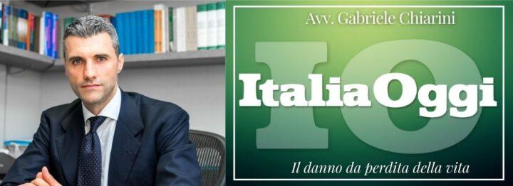 ItaliaOggi Sette 02-11-2020 Danno tanatologico - Avv. Gabriele Chiarini