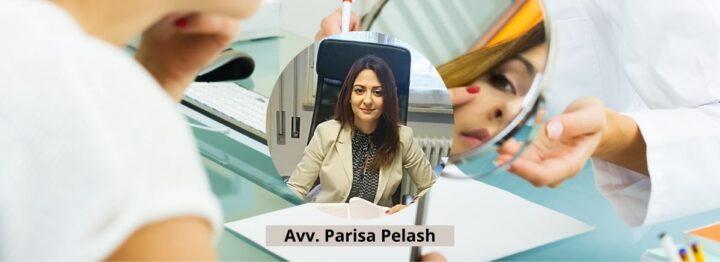 Avv. Parisa Pelash - danno estetico