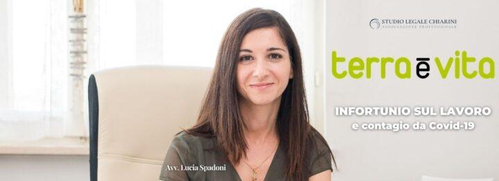 Avv. Lucia Spadoni per Terra e Vita - infortunio sul lavoro