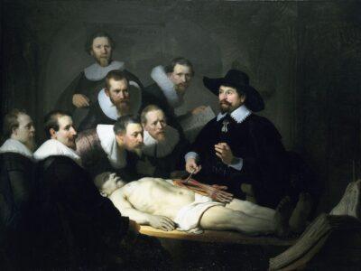 Lezione di anatomia del dottor Tulp, Rembrandt, 1632