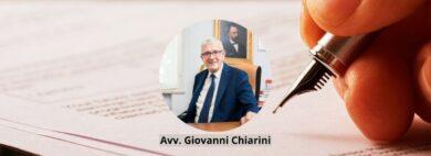 Avv. Giovanni Chiarini - Ammissione al gratuito patrocinio