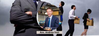 Avv. Andrea Sisti - Divieto licenziamento Covid dirigenti(