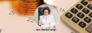 Avv. Merika Carigi - Gli interessi moratori nelle obbligazioni pecuniarie