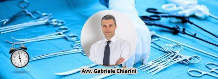 Avv. Gabriele Chiarini - Ritardo intervento chirurgico & risarcimento danni