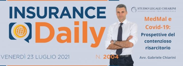 Avv. Gabriele Chiarini per Insurance Daily - MedMal e Covid-19
