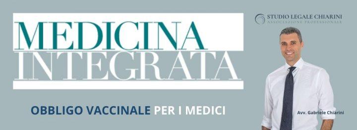 Avv. Chiarini per MEDICINA INTEGRATA - Vaccini